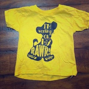 Lion King t shirt worn once to animal kingdom